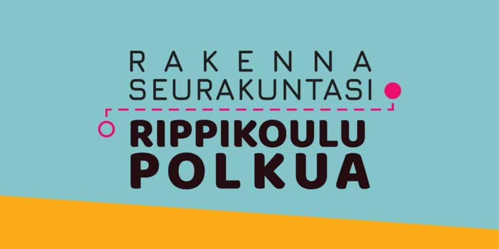 """""""Rakenna seurakuntasi rippikoulupolkua"""" -logo"""